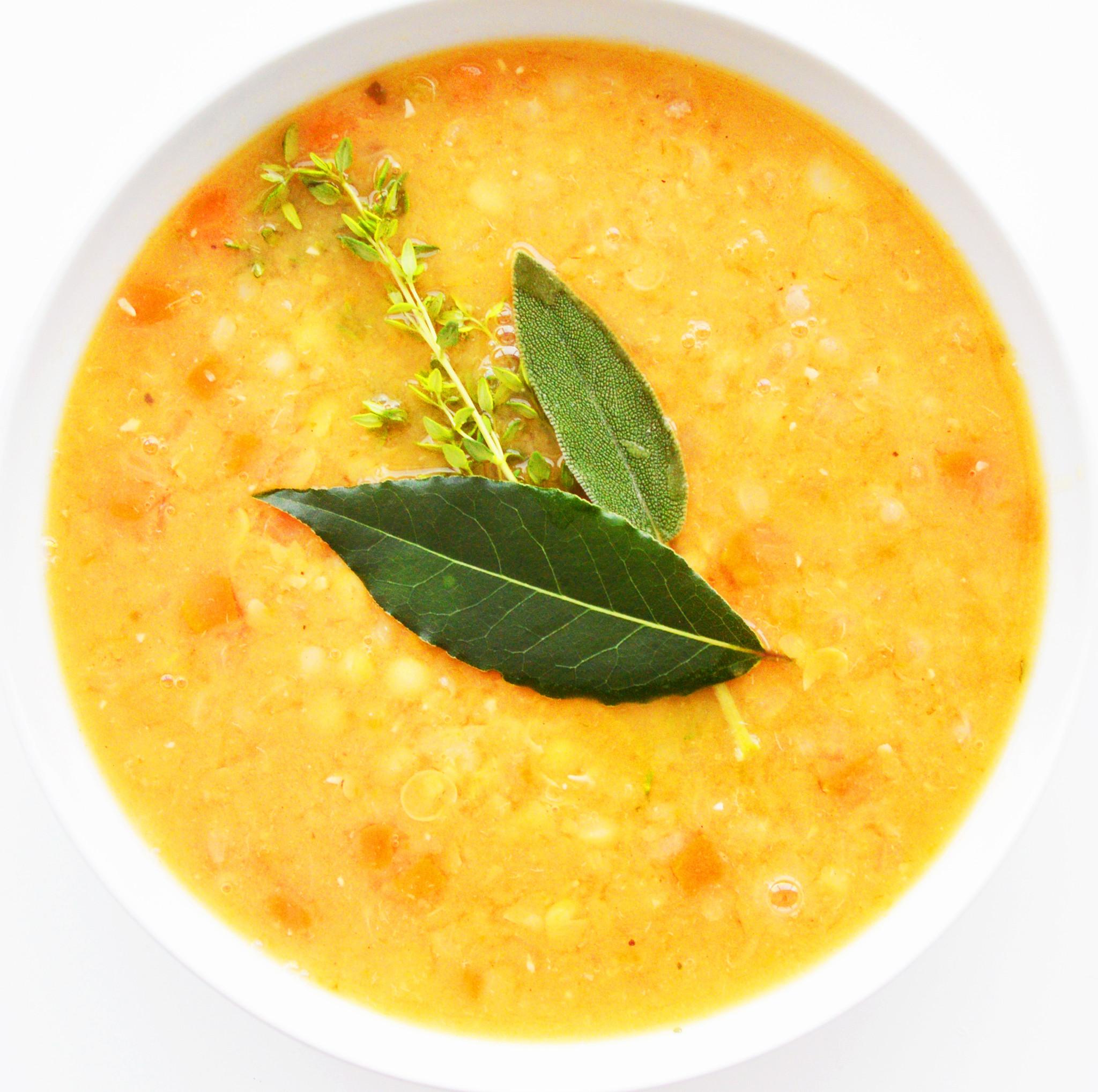 Soupe-repas canadienne aux pois végétalienne (325g)