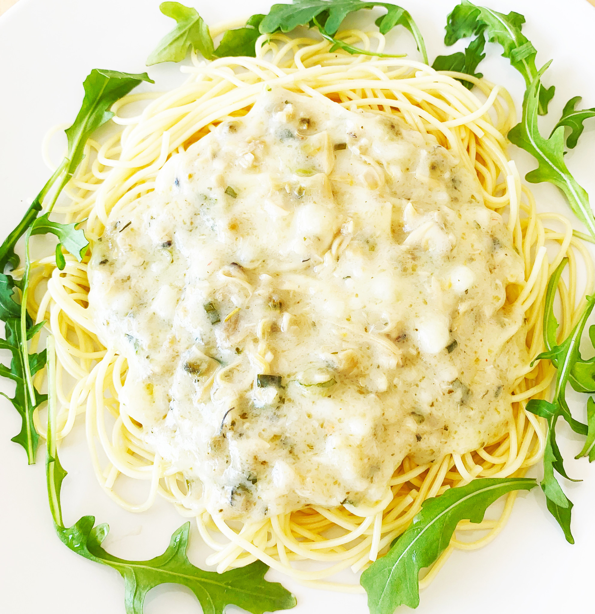 Spaghettini aux palourdes & au vin blanc (325g)