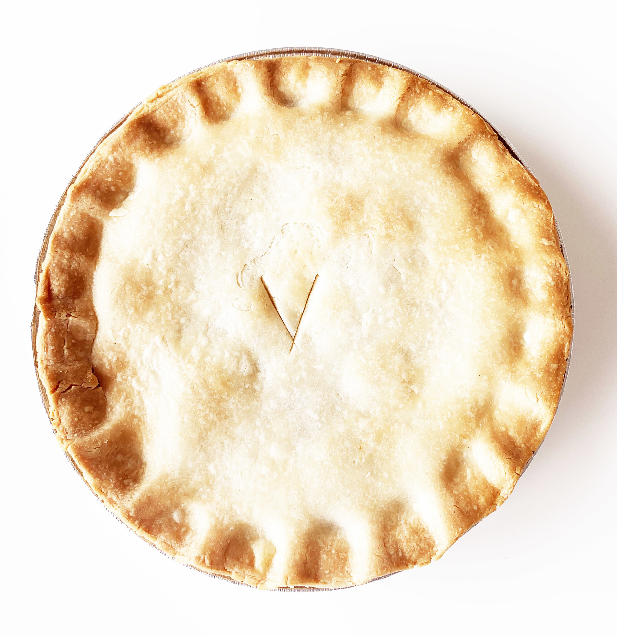 Large meat pie