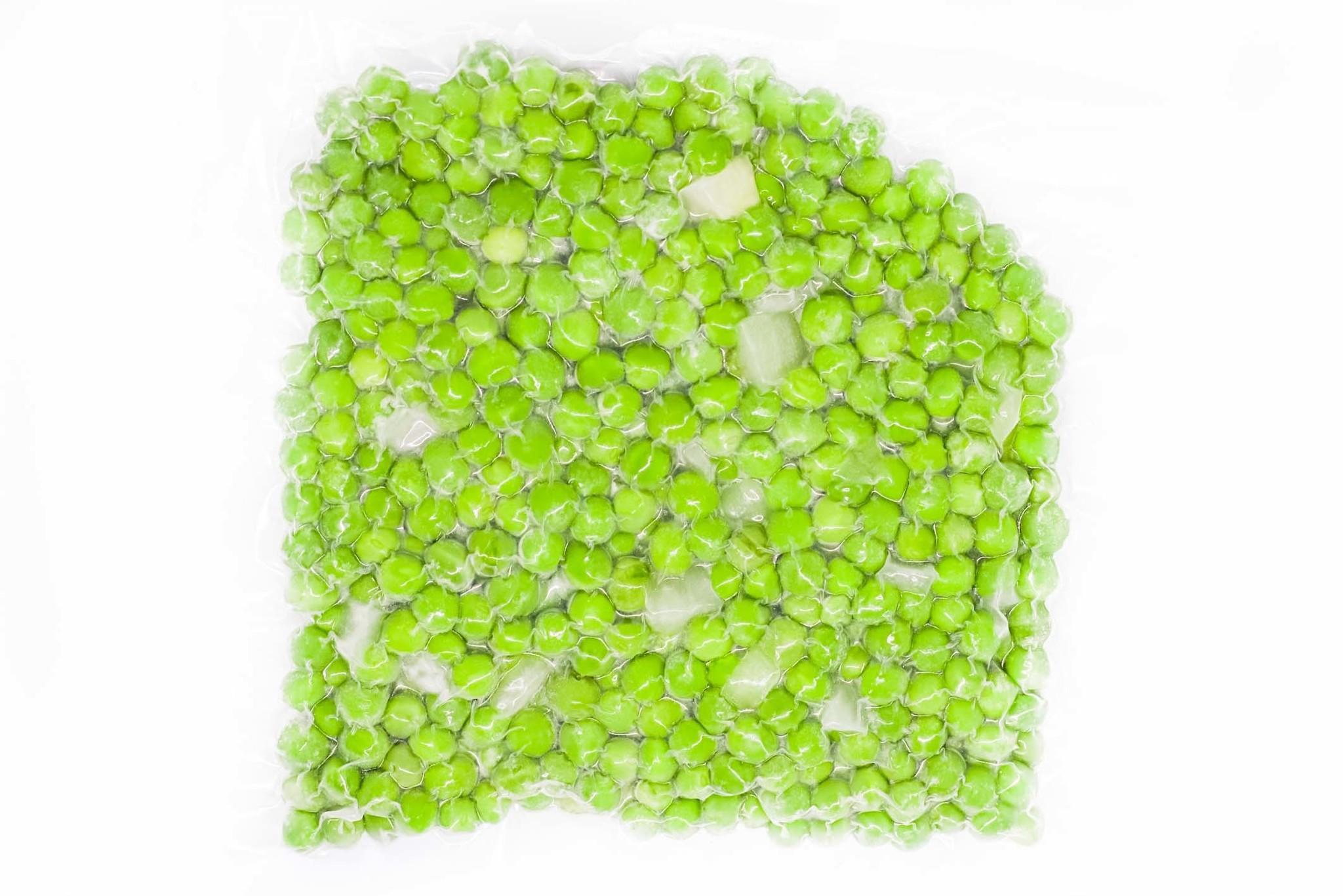 Green peas & onions
