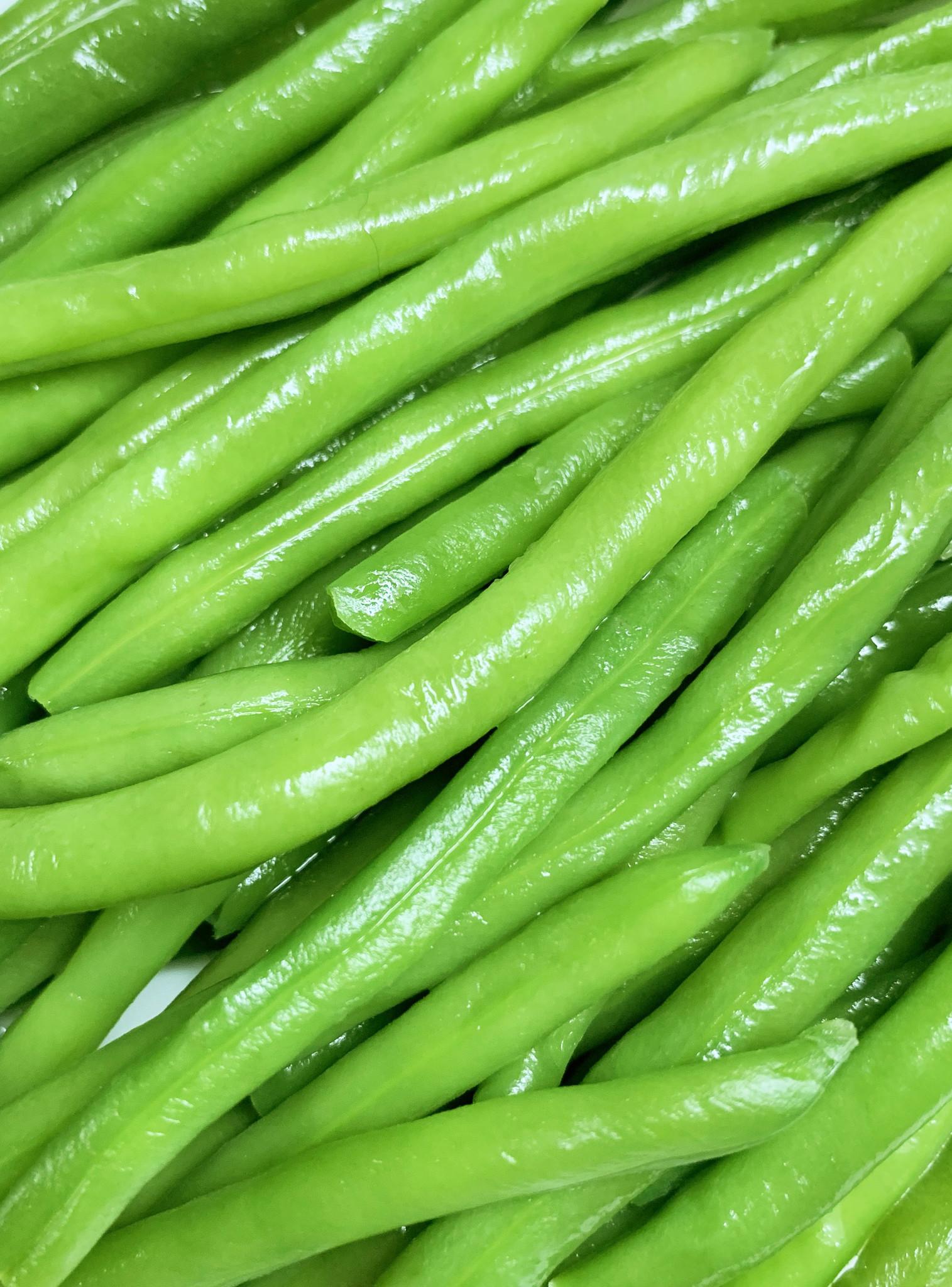 Thin green beans