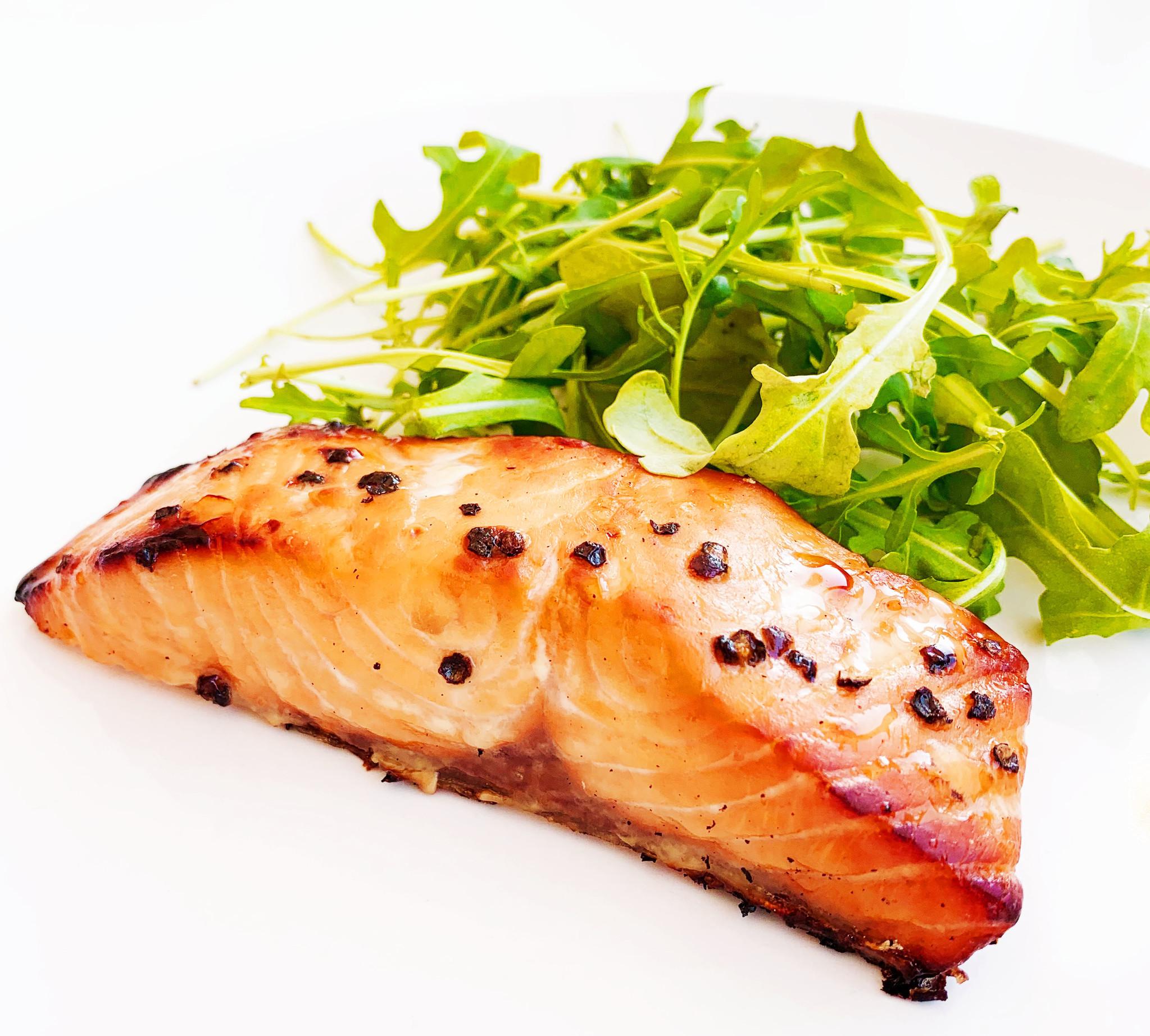 Saumon à l'érable & au poivre (moyen)