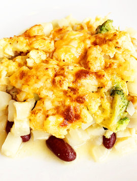 Cassolette-déjeuner mexicaine végétarienne