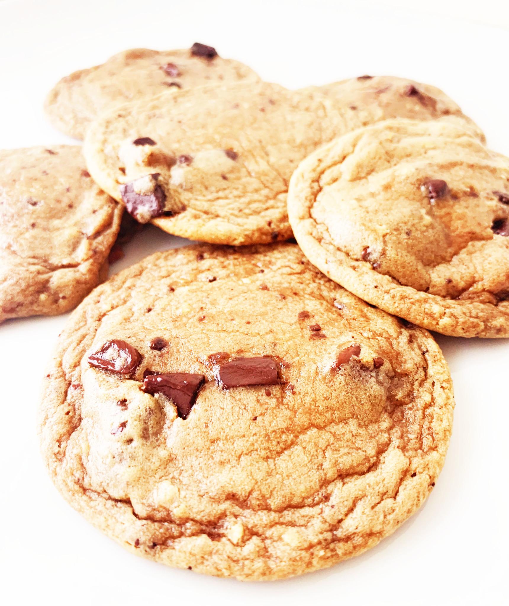 Biscuits de brisures de chocolat