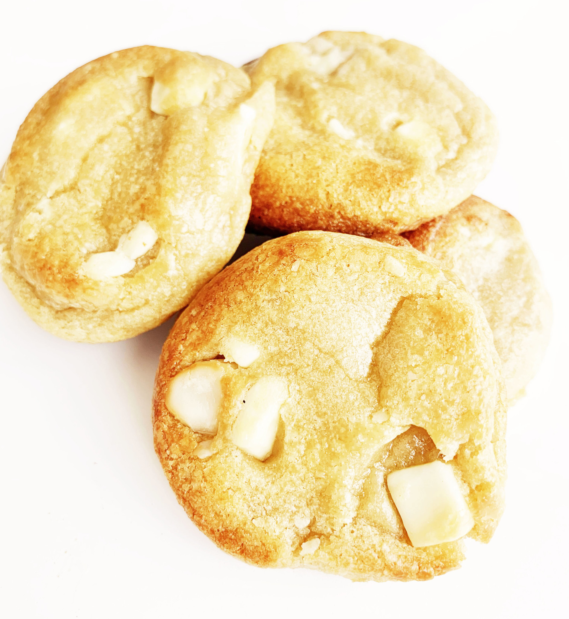 Biscuits au chocolat blanc & macadam
