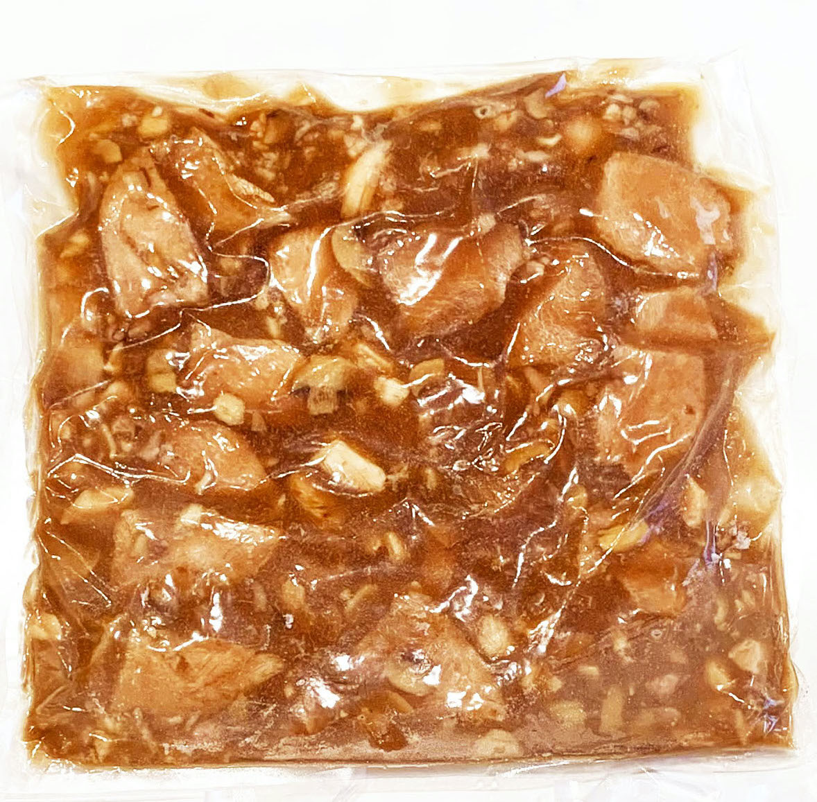 Poitrine de dinde & de poulet en sauce forestière (SACHET DE 750g)