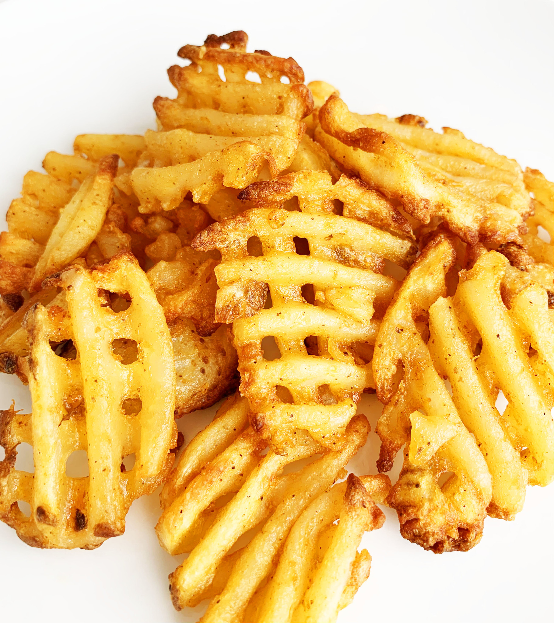 Waffle potatoes