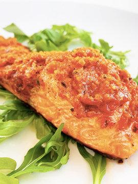 Tomato Pesto Trout