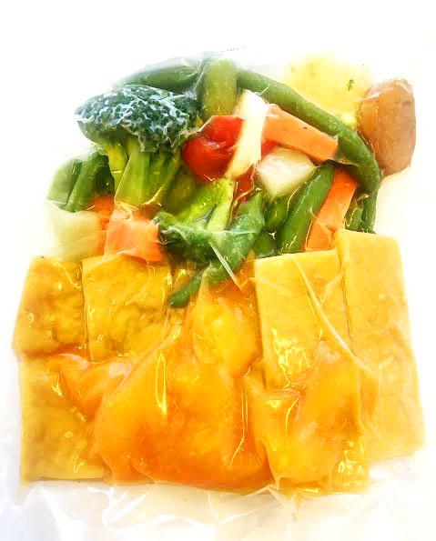 Ultra FIT Tofu with mandarine, ginger & Asian vegetables