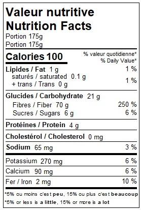 Fèves au lard végétaliennes (175 g)