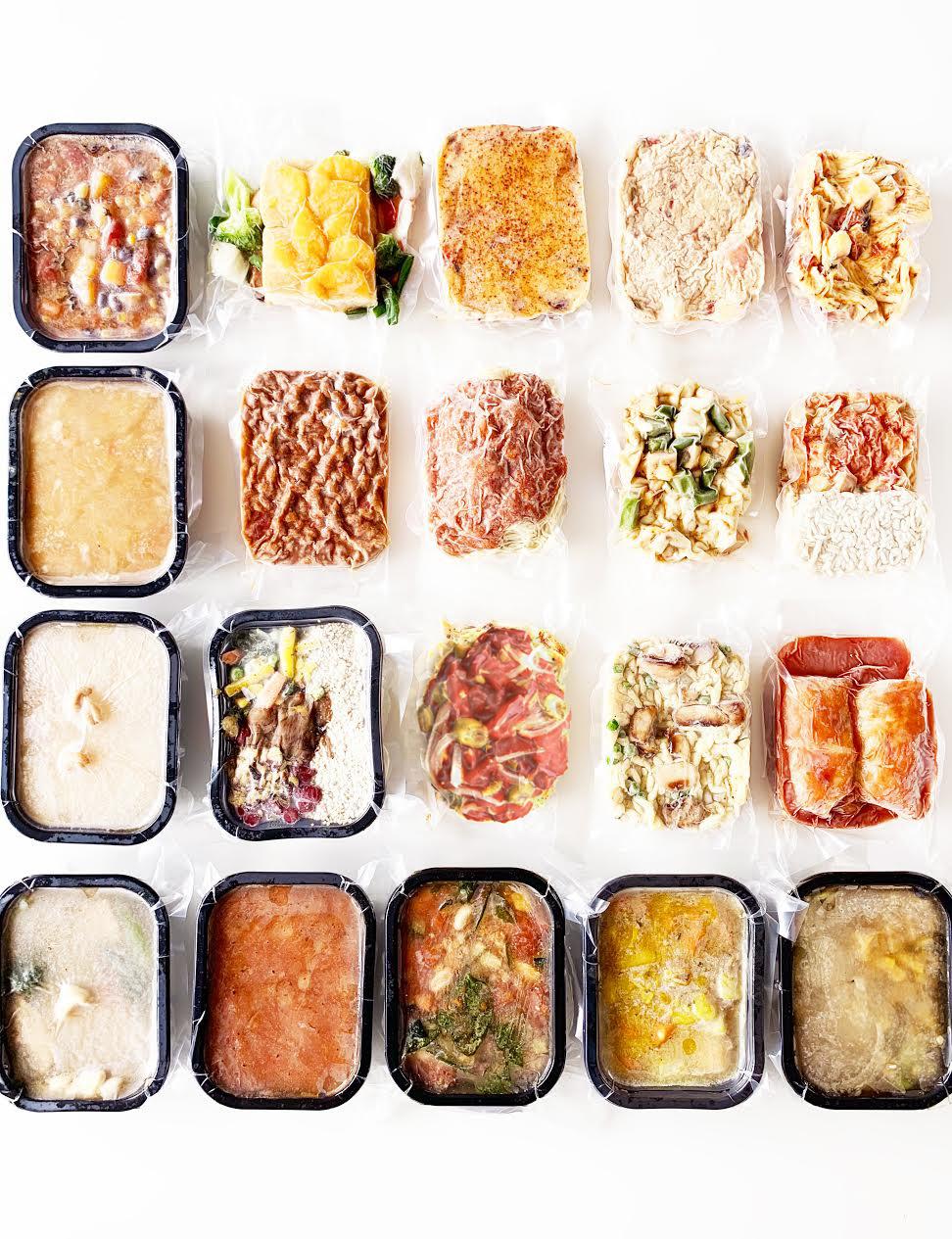 Vegan Meals Box