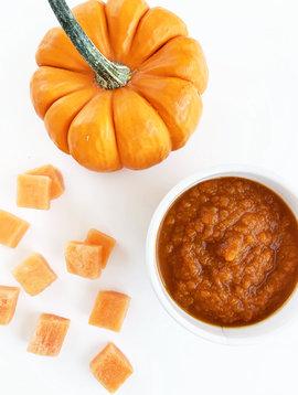 Purée de citrouille & de patates douces (CIRCULAIRE d'octobre, prix rég: 6)