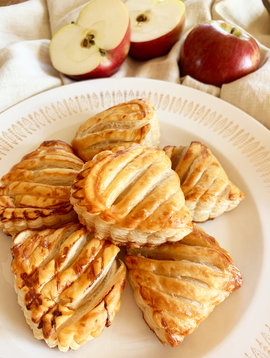Mini chaussons français aux pommes
