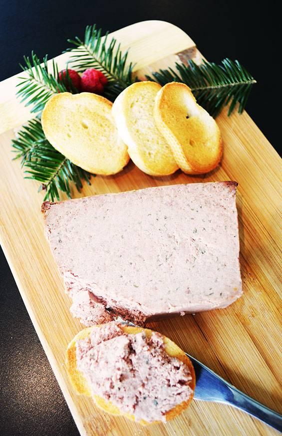 Poultry liver & porto pate