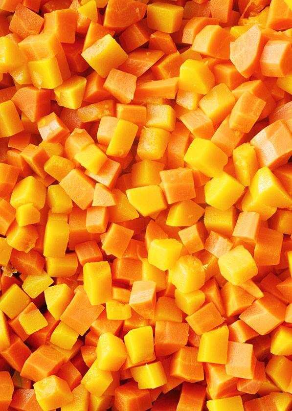Butternut squash & carrots