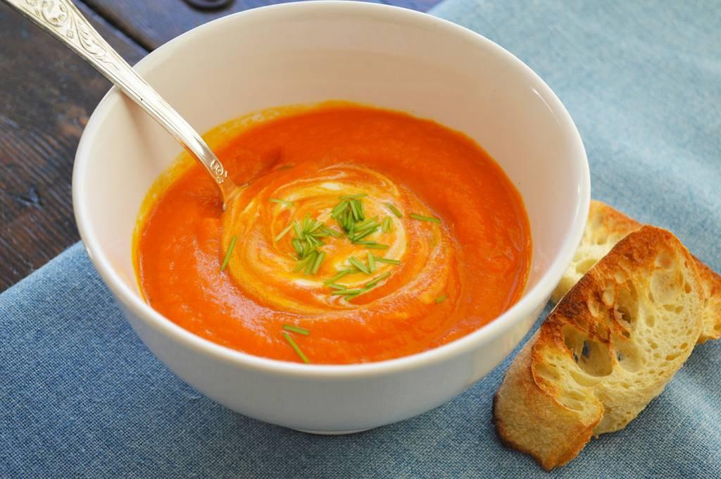 Potage de carottes & gingembre