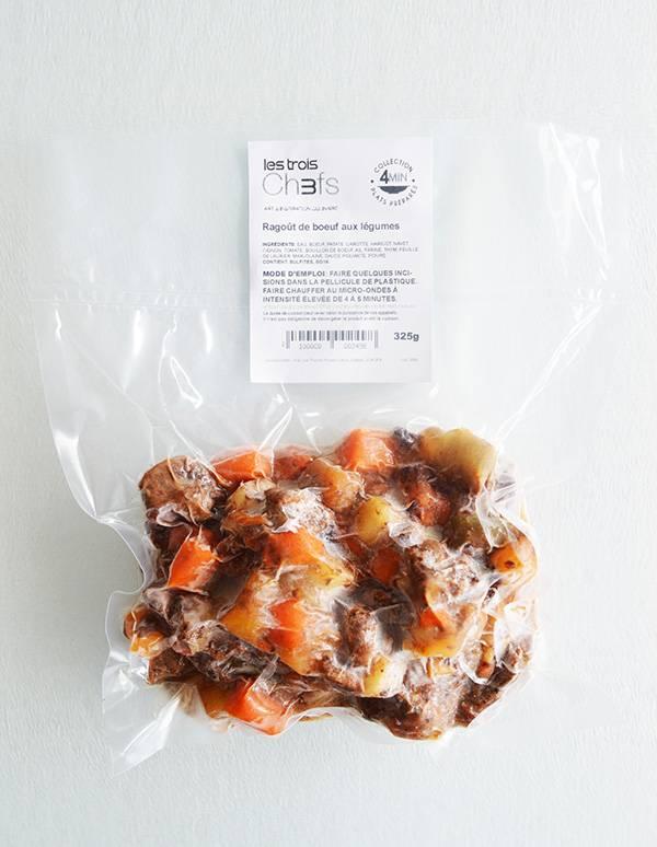 Ragoût de boeuf aux légumes (325g)