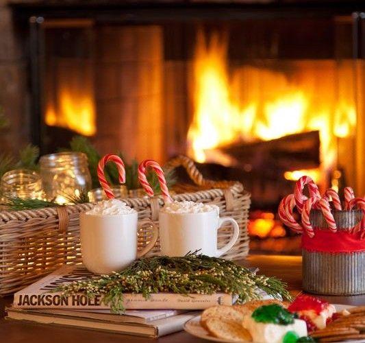 Noël, ajoutez de la chaleur à la fête!