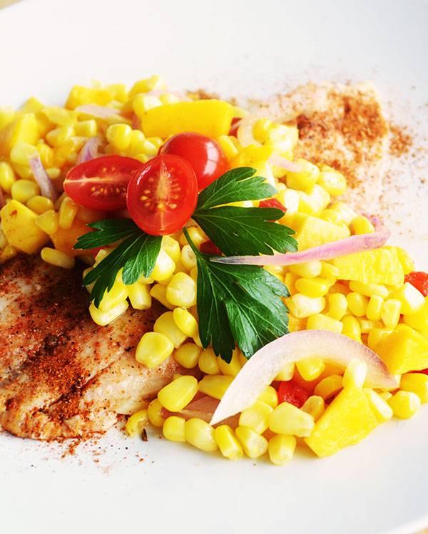 Cajun-spiced tilapia