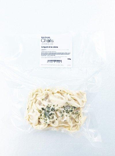 Cream linguini