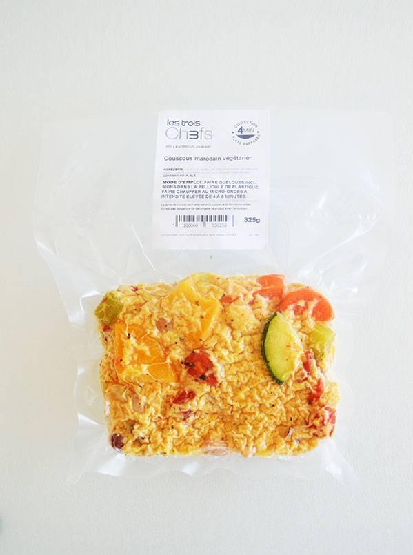 Couscous marocain & légumineuses (325g)