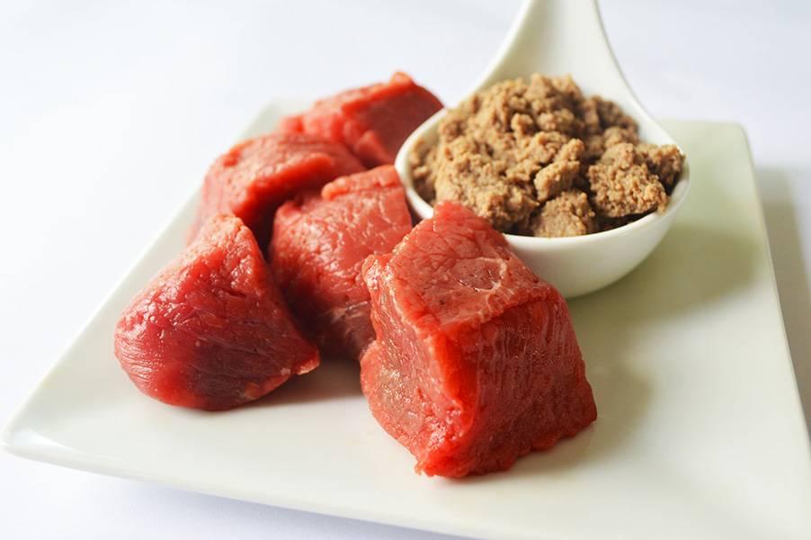 Beef puree
