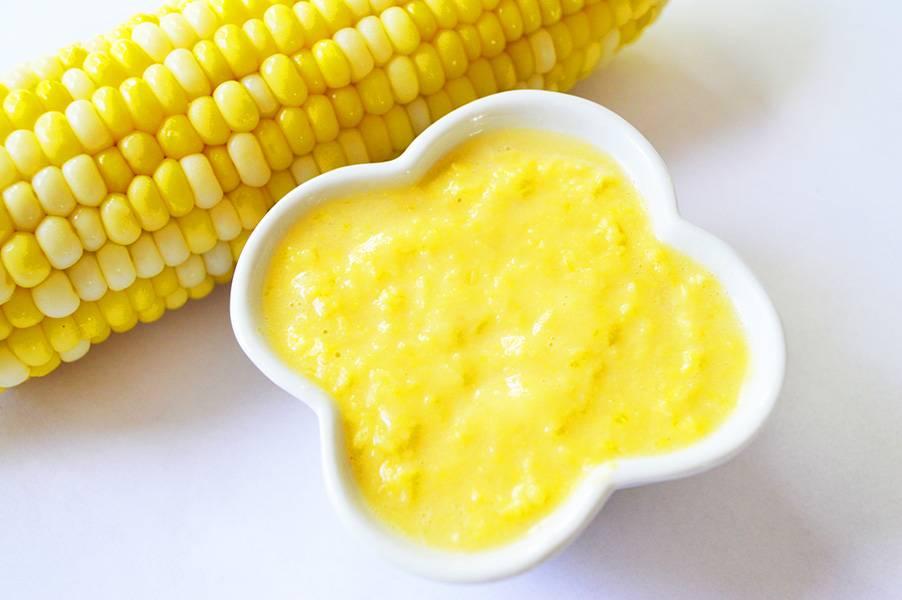 Purée de maïs