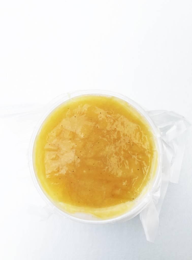 Potage de citrouille, pomme & cari