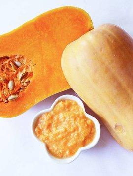 Purée de carottes & courge musquée (SPÉCIAL NOVEMBRE, Prix régulier: 5.00$)