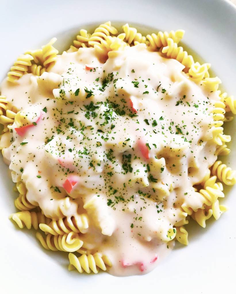 Rotini & crab alfredo sauce (325g)