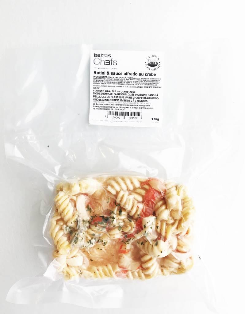 Rotini & Crab Alfredo Sauce (175g)