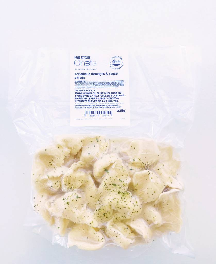 Tortellini 5 fromages & sauce alfredo (325g)