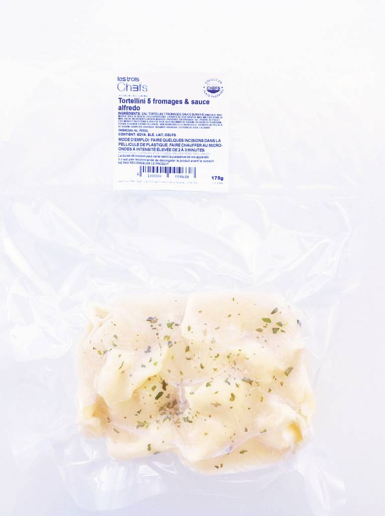 Tortellini 5 fromages & sauce alfredo (175 g)