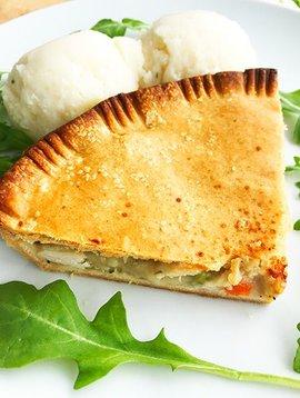 Chicken pie & mashed potatoes (325g)