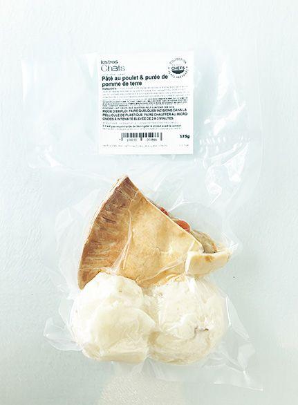 Chicken pie & mashed potatoes (175g)