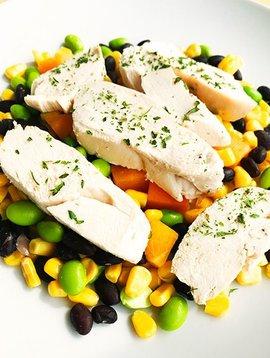 Poitrine de poulet, mangue, haricots & edamames Ultra FIT