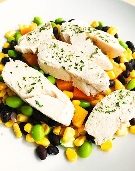 Poitrine de poulet, mangues, haricots & edamames Ultra FIT