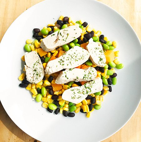 Ultra FIT Chicken Breast, Mangoes, Beans & Edamame
