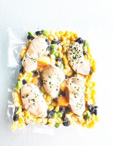 Poitrine de poulet, courge musquée, haricots & edamames Ultra FIT