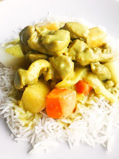 Vietnamese curry chicken, vegetables & basmati rice (325g)