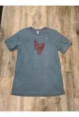Blockhead Press Petaluma Chicken Unisex T-Shirt