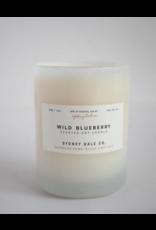Sydney Hale Co. Clear Glass - Wild Blueberry