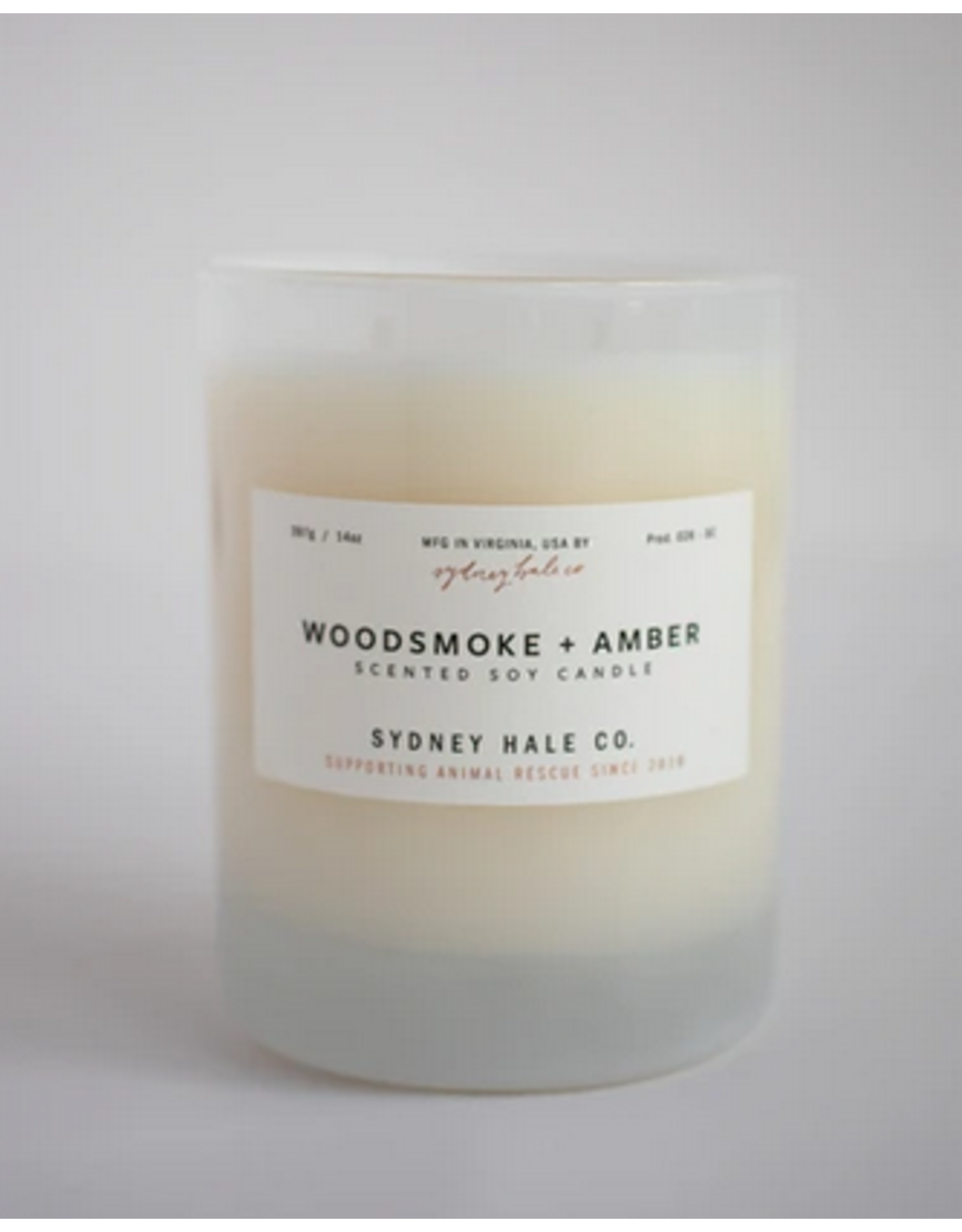 Sydney Hale Co. Clear Glass - Woodsmoke & Amber
