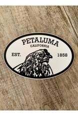 Blockhead Press Petaluma Oval Petaluma Decal