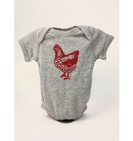 Blockhead Press Petaluma Chicken Heather - Kids
