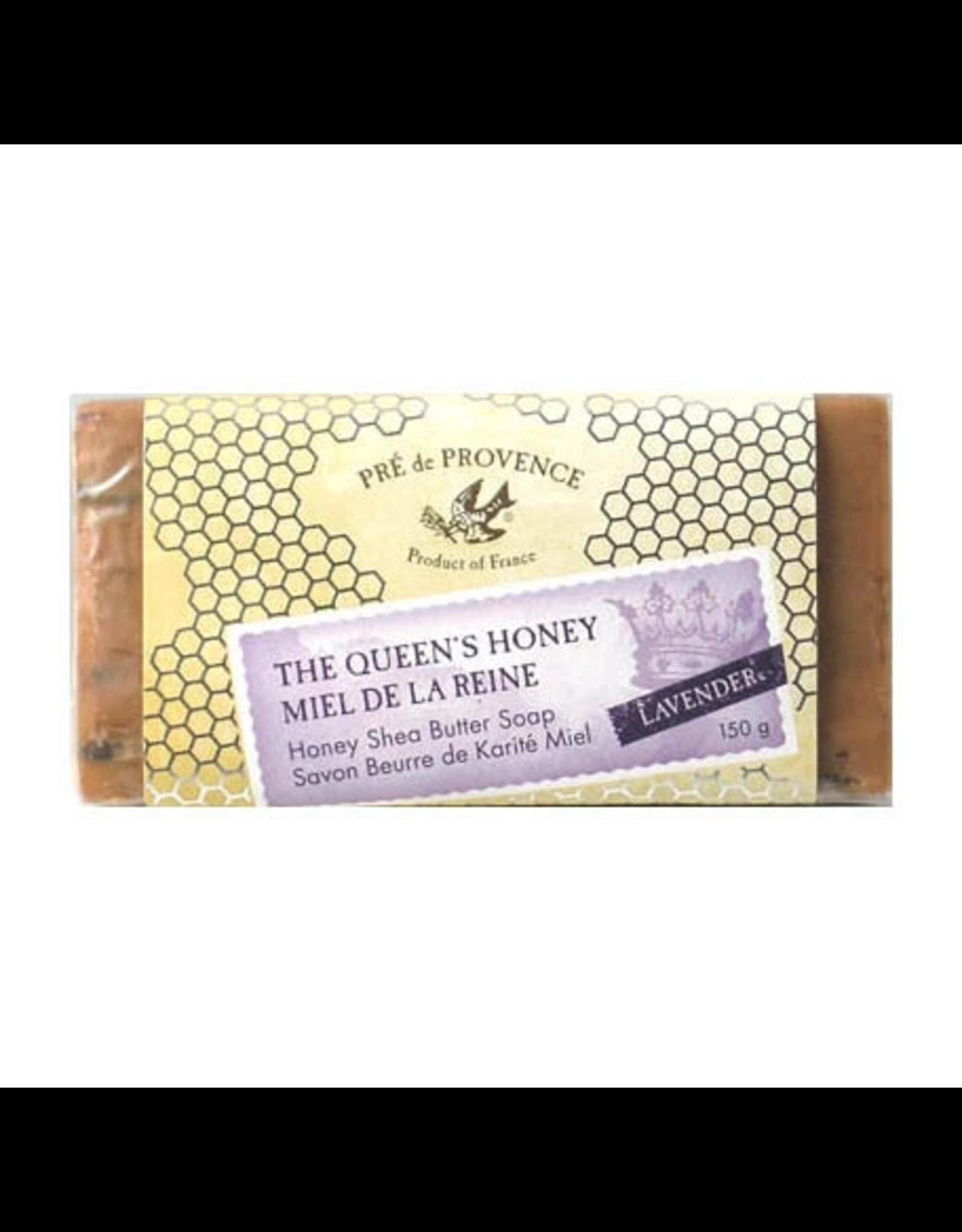 European Soaps LTD PDP-Queen's Honey Lavender Soap 150G