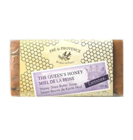 European Soaps LTD PDP-Queen's Honey Lavender Soap 150G