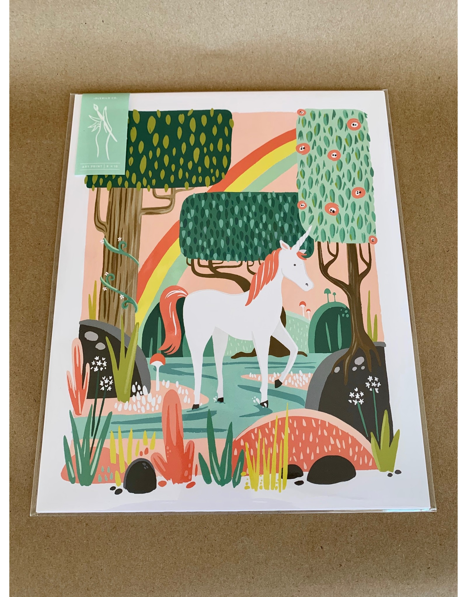 Idlewild Print - 8x10: Unicorn, Home, or Grow Through