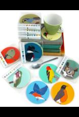 Bird vs Bird Birds - Hummingbirds - Coaster Set