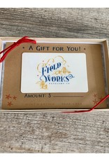 Field Works $25 Gift Card